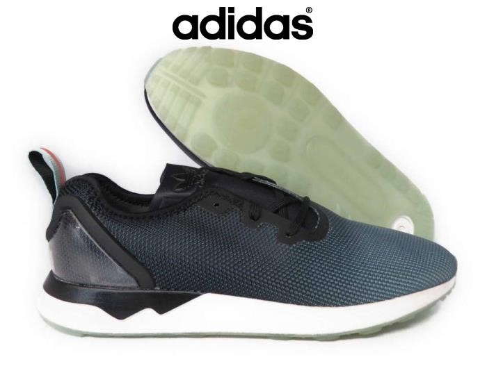 2018 Scarpe Adidas - Nero [s79055] Adidas Originali Zx Flux Adv Sim Nero Sz Sneakers Blu Highlight Men Glow Jpstvwy124